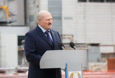 Voorzitter van Witrussisch Alexander Lukashenko Stock Fotografie