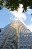 Voorzorgs- Toren en de Bouw van AON in Chicago, IL Stock Foto