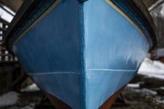 Vor dem Boot stockbilder