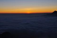 Vor dem Sonnenaufgang Stockfotos