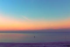Vor dem Sonnenaufgang Lizenzfreies Stockbild