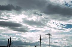 Vor dem Sturm Stockbilder