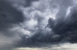 Vor dem Sturm lizenzfreies stockbild