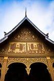 Vor dem Tempel. Stockfotos