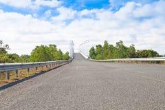 Vor der Brücke Lizenzfreies Stockfoto