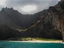 Vor der Napali-Küste stockbilder