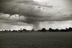 Vor einem Gewitter Stockbilder