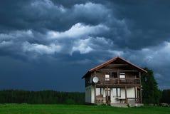 Vor einem Sturm lizenzfreie stockfotos