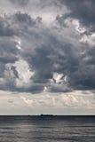 Vor einem Sturm Stockbild