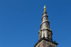 Vor Frelsers Kirke, église de notre sauveur à Copenhague, Danemark photo libre de droits