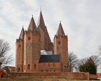 Vor Frue柯克- Kalundborg,丹麦 免版税库存图片