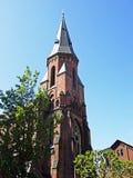 Vor Frue Kirke in Aarhus Lizenzfreies Stockbild