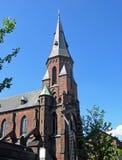 Vor Frue Kirke in Aarhus (Dänemark) Lizenzfreie Stockfotografie