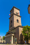 Vor Frue Kirke (Church of Our Lady) in Copenhagen, Denmark Royalty Free Stock Photography