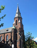 Vor Frue Kirke em Aarhus (Dinamarca) Fotografia de Stock Royalty Free