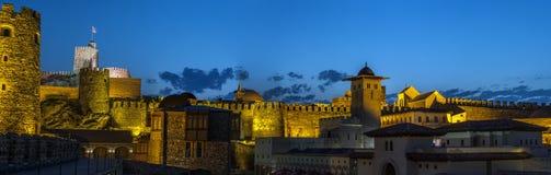 Vor kurzem wieder hergestellte medieva Festung von Rabat Lizenzfreies Stockfoto