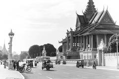 Vor Royal Palace stockbild