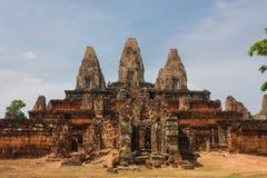 Vor Rup-Tempel in Angkor-Stadt Stockbild
