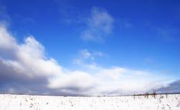 Vor Schneefälle. Lizenzfreies Stockfoto