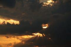 Vor Sonnenuntergang Stockbilder