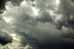 Vor Sturm des starken Regens Stockbilder