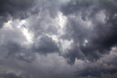 Vor Sturm des starken Regens Lizenzfreies Stockbild