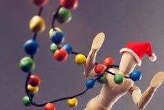 Vorabend der Attrappe Weihnachts Stockfoto