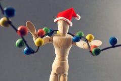 Vorabend der Attrappe Weihnachts Lizenzfreies Stockfoto