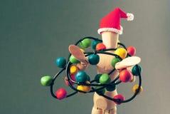 Vorabend der Attrappe Weihnachts Lizenzfreie Stockfotografie