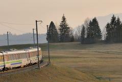 Voralpen-Express bei Sattel Stock Photo