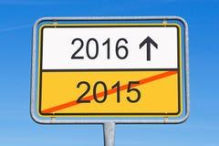 2016 voran Lizenzfreie Stockfotografie