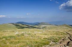 Voras Kaimaktsalan Ski Center i Edessa Grekland Arkivfoto