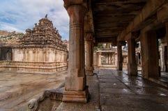 Voraussetzungen des alten Tempels Stockfoto