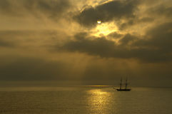 Vorbei segeln Stockfotos