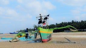 Vorbereiten des Bootes Lizenzfreies Stockfoto
