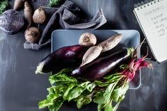 Vorbereiten des gesunden Abendessens Lizenzfreie Stockfotografie