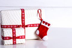 Vorbereiten für das neue Jahr und das Weihnachten Lizenzfreie Stockbilder