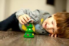 Vorbereiten für das Weihnachten Stockbilder