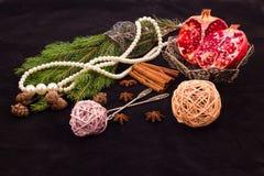 Vorbereiten für den Feiertag des neuen Jahres Lizenzfreie Stockbilder
