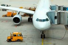 Vorbereiten für den Flug Lizenzfreies Stockfoto