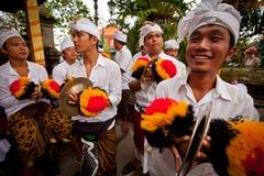 Vorbereiten für neues Jahr des Balinese Stockbilder