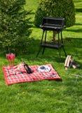 Vorbereiten picnic Stockfotos