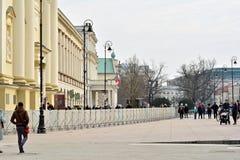 In Vorbereitung auf noch eins Gedenken des Smolensk-Flugzeugabsturzes Lizenzfreies Stockfoto