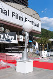 Vorbereitung der Eröffnungsfeier des internationalen Film-F.E. Lizenzfreie Stockbilder