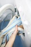 Vorbereitung für das Waschen Stockfotografie