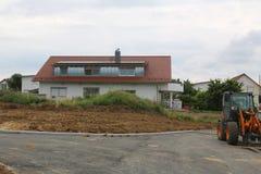 Vorbereitung für den Bau eines neuen Wohndorfs stockfotos