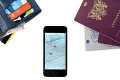 Vorbereitung für eine Reise Lizenzfreie Stockfotos
