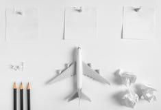 Vorbereitung für reisendes Konzept und Liste tun Stockfotos