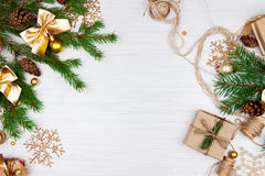 Vorbereitung für Weihnachtsfeiertage Lizenzfreies Stockbild