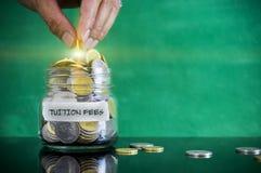 Vorbereitung für zukünftiges und Finanzkonzept Stockbild